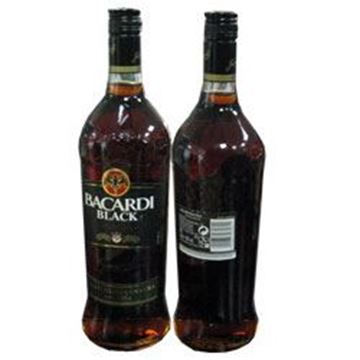 Picture of Bacardi Black Rum 40%(1L)