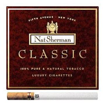 Picture of 100 Cigarettes Nat Sherman Classic Cigarettes (1X100)