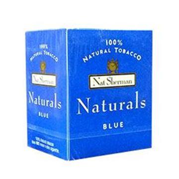 Picture of 100 Cigarettes Nat Sherman Naturals Blue Cigarettes (1X100)