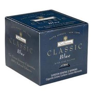 Picture of 100 Cigarettes Nat Sherman Classic Blue Cigarettes (1X100)