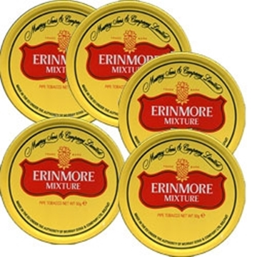 Picture of Erinmore Mixture Tobacco (5 packs of 50 gr.)