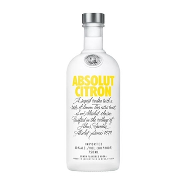 Picture of Absolut Citron Vodka 40% (1L)