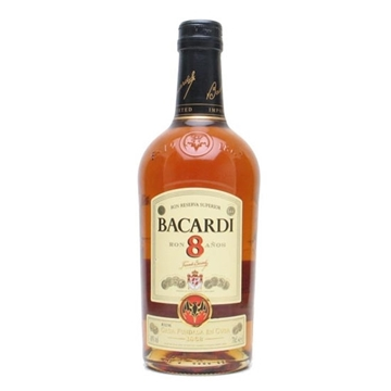 Picture of Bacardi 8 Years Old Rum 40% (1L)
