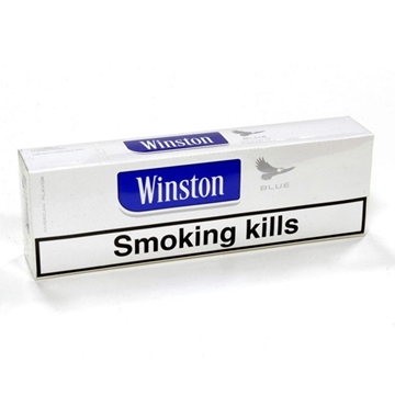Picture of Winston Blue King Size Box Cigarettes