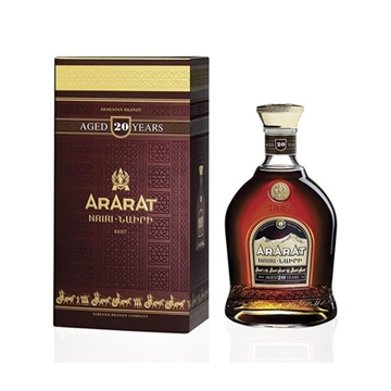 Picture of ARARAT NAIRI 20 YO BRANDY 40%