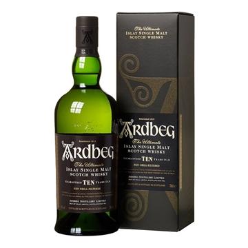 Picture of ARDBEG MALT SCOTCH 10 Y.O WHO