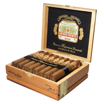 Picture of Arturo Fuente Don Carlos Belicoso (25 cigars)