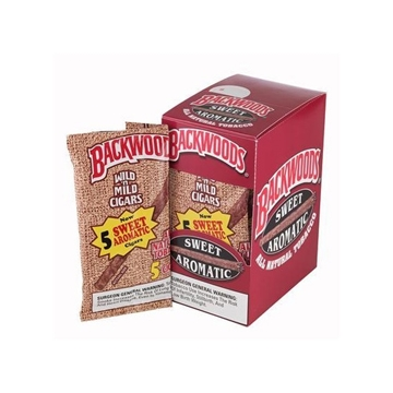 Picture of Backwoods Aromatic cigars (8 packs of 5)