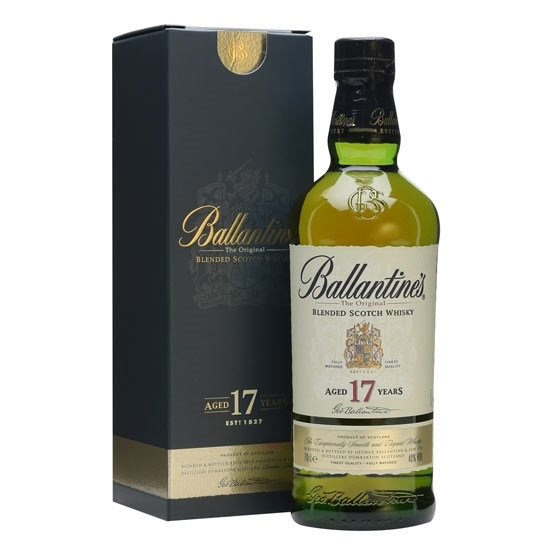 Picture of Ballantines 17 Years Old Whisky (700 ml.) With Gift Box