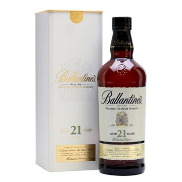 Picture of Ballantines 21 Years Old Whisky (700 ml) With Gift Box