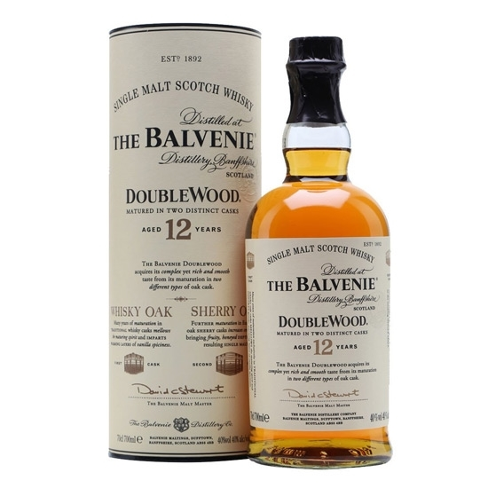 Picture of BALVENIE MALT TRIPLE 12 Y.O Whisky 1LT