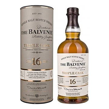 Picture of Balvenie Triple Cask 16 Year Old Single Malt Scotch Whisky 700 ml, Speyside, Scotland