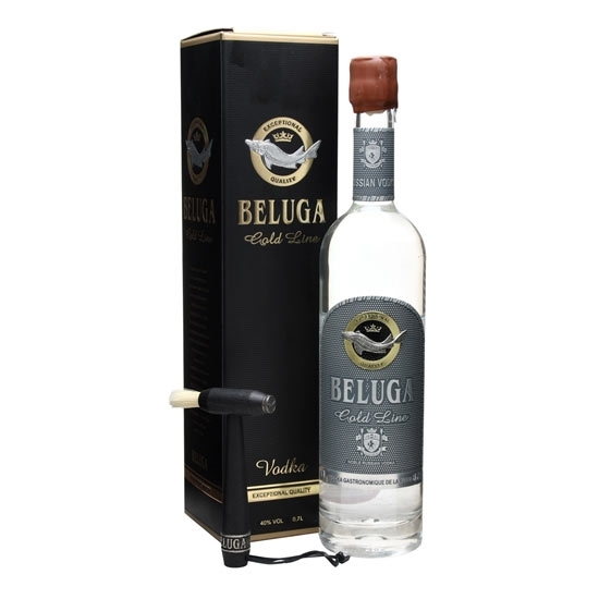 Picture of Beluga Gold Vodka (700 ml) With Gift Box