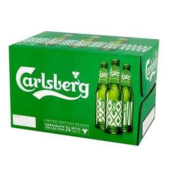 Picture of CARLSBERG BEER BTL 33 CL X 24