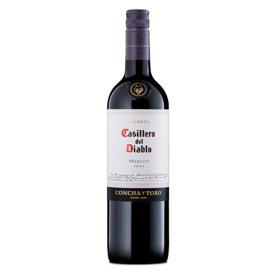 Picture of Casillero Del Diablo Merlot (750 ml.)