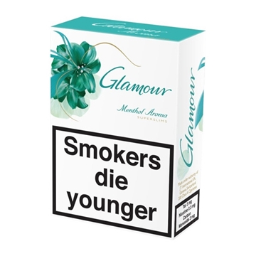 Picture of Glamour Menthol Superslims Cigarettes