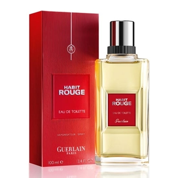 Picture of Guerlain Habit Rouge Eau De Toilette Spray (100 ml./3.4 oz.)