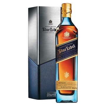 Picture of Johnnie Walker Blue Label Porsche Whisky (700 ml.) With Gift Box