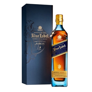 Picture of Johnnie Walker Blue Label Whisky (1L), With Gift Box