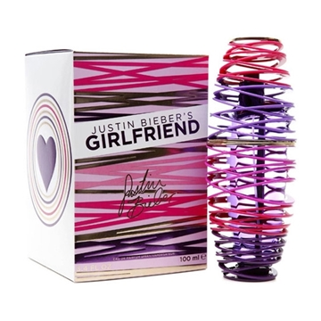 Picture of Justin Bieber Girlfriend Eau De Parfum For Women Spray (100 ml./3.4 oz.)