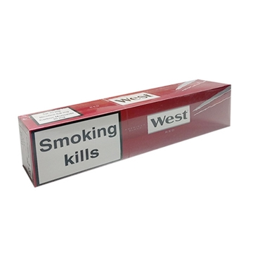 Picture of West Red King Size Cigarettes