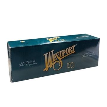 Picture of WESTPORT 100 MENTHOL CIGARET