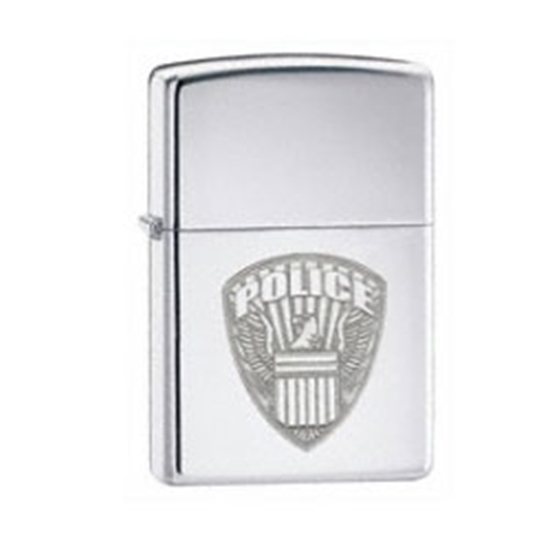 Picture of Zippo Chrome Police Shield Lighter