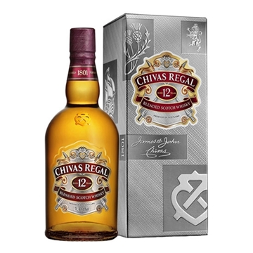 Picture of Chivas Regal 12 Y.O. Whisky (1LT) With Gift Box