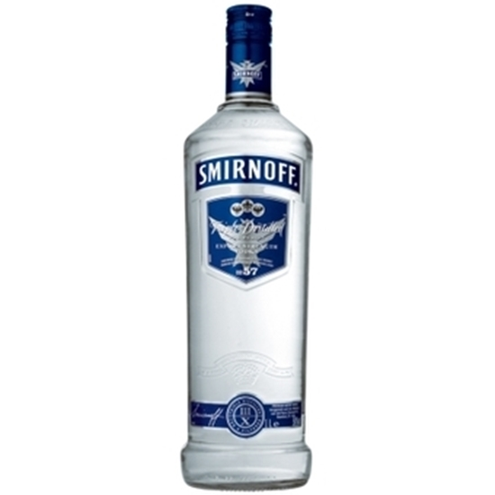 Picture of SMIRNOFF BLUE 50 % VODKA