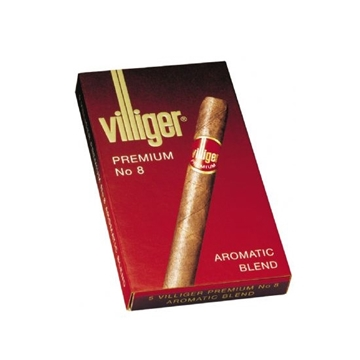 Picture of Villiger Premium No. 8 Cigars (20 Cigars)
