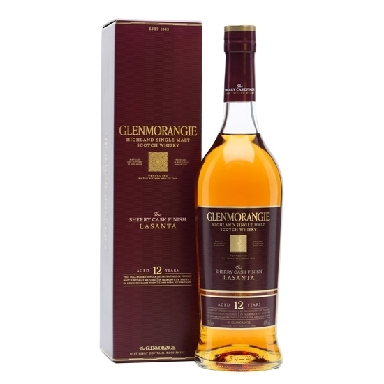 Picture of Glenmorangie Lasanta Malt Whisky (1L) With Gift Box