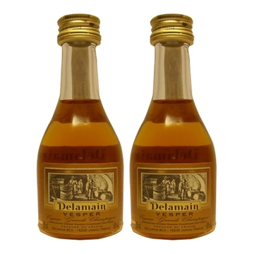 Picture of Delamain Cognac Grand Champagne Vesper Miniature (30 ml X 2)