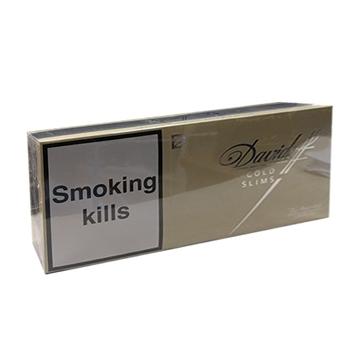 Picture of Davidoff Gold Slims Cigarette
