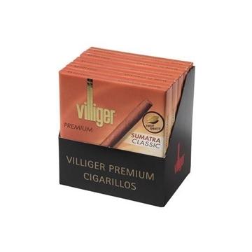 Picture of Villiger Premium No. 10 Sumatra Classic Cigarillos (5 X 10 Cigarillos)