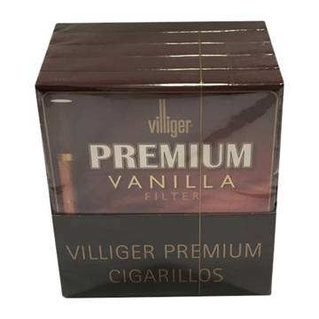 Picture of Villiger Premium Vanilla Filter (5 X 10 Cigarillos)