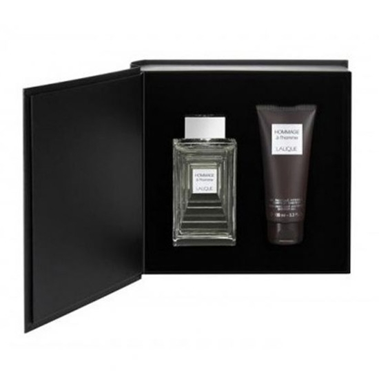 Picture of Lalique Hommage A L`Homme Eau de Parfum 125 ml, Shower Gel 150ml