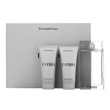 Picture of Zegna Uomo Eau De Toilette + After-Shave Balm Set 2x (100 ml./3.4 oz.)