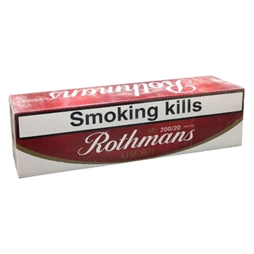 Picture of Rothmans Red Special Medium Cigarettes